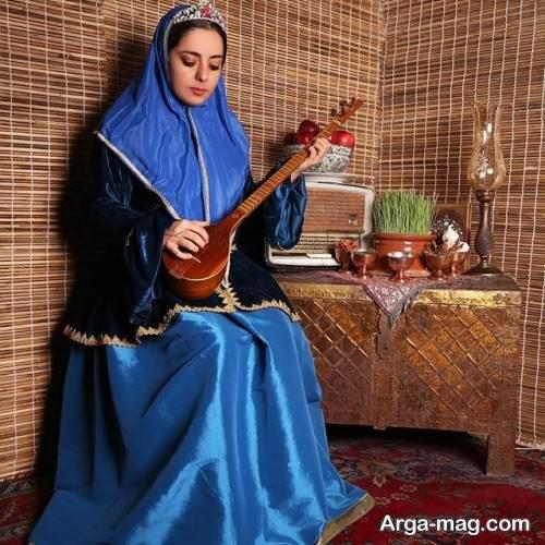لباس زنانه قاجاری