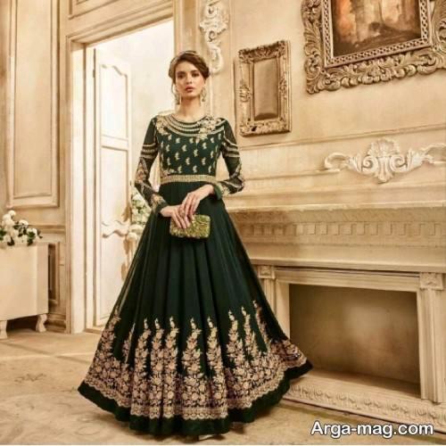 مدل پیراهن زنانه قاجاری