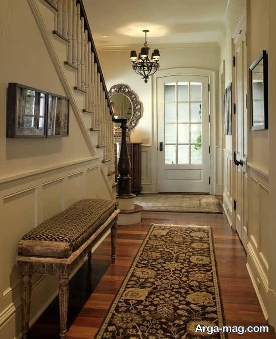 مجموعه ای متفاوت از مدل های قالیچه واسه راهروی خانه
