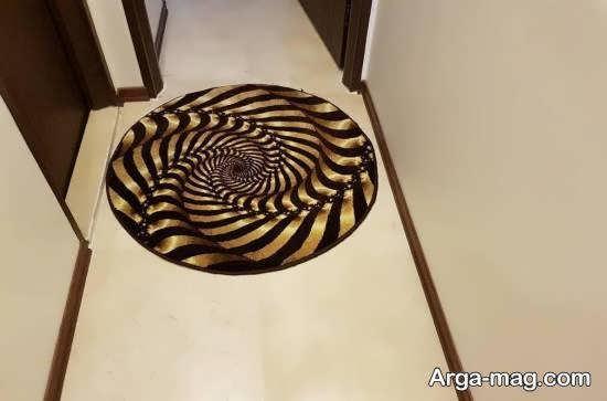 مدل های قالیچه شیک به عنوان پادری برای راهرو
