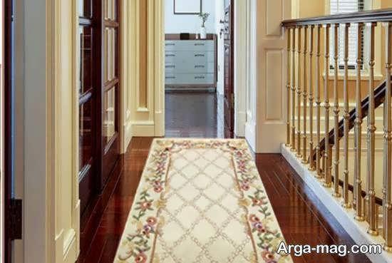 نمونه هایی شیک و متفاوت از قالیچه برای راهرو