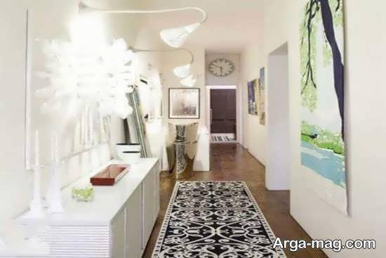 الگوهایی ناب و با ارزش از قالیچه برای راهرو