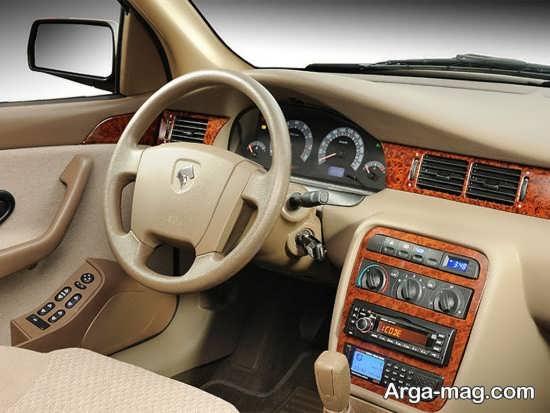 طراحی داخلی خودروی سمند ef7