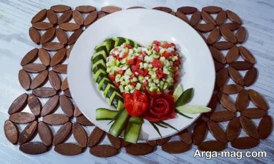 سالاد شیرازی برای مناسبت خاص