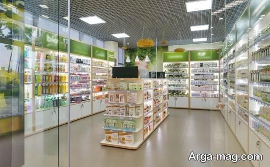 نورپردازی داخلی مغازه