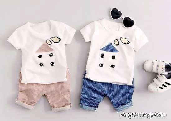 گالری مدل پوشاک نوزاد شش ماهه با تنوع بسیار