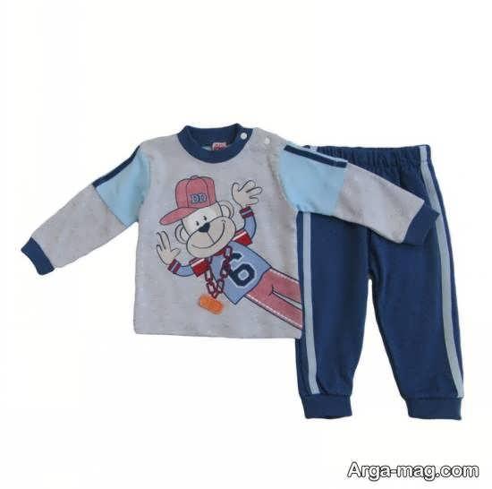 مجموعه ای زیبا و لوکس از نمونه های لباس شش ماهه برای پسران
