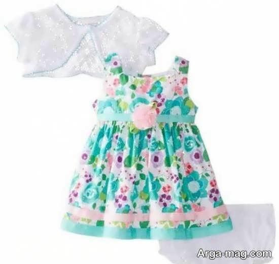 گالری شیک و ارزشمندی از مدل رخت نوزاد شش ماهه دخترانه