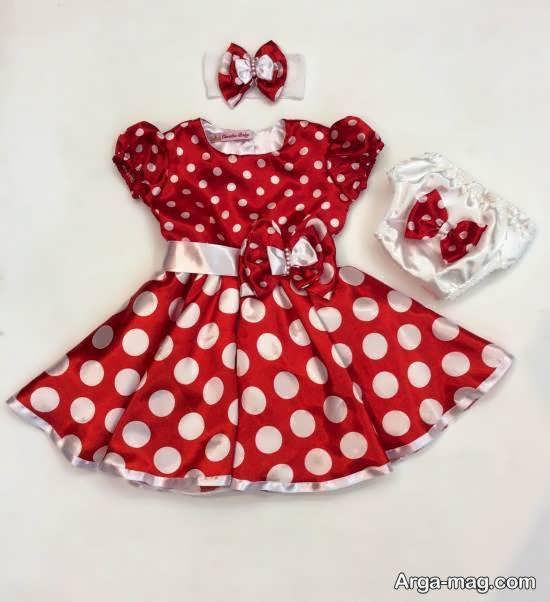 انواع نمونه های بینظیر و جذاب لباس نوزاد شش ماهه