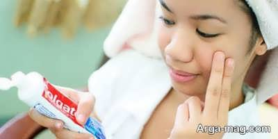 اثرات فوق العاده خمیر دندان در رفع جوش صورت