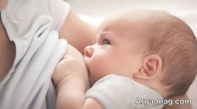 خوردن شیر مادر توسط کودک برای مقاومت در برابر عفونت