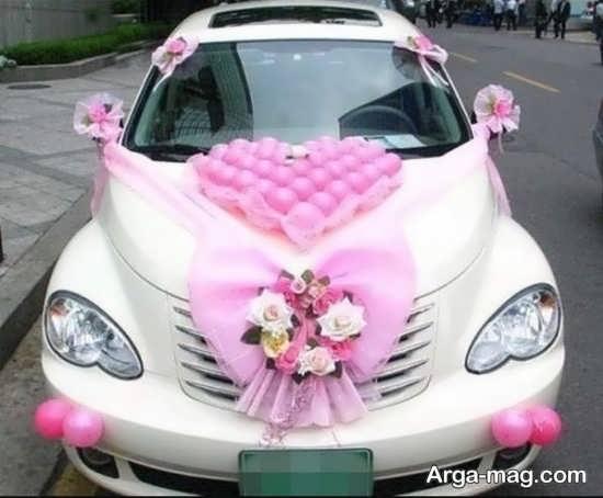 تزیینات شکیل ماشین عروس