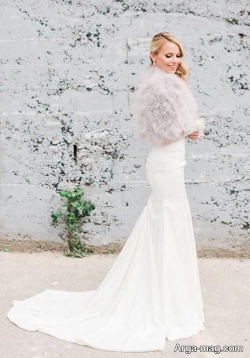 لباس عروس گرم