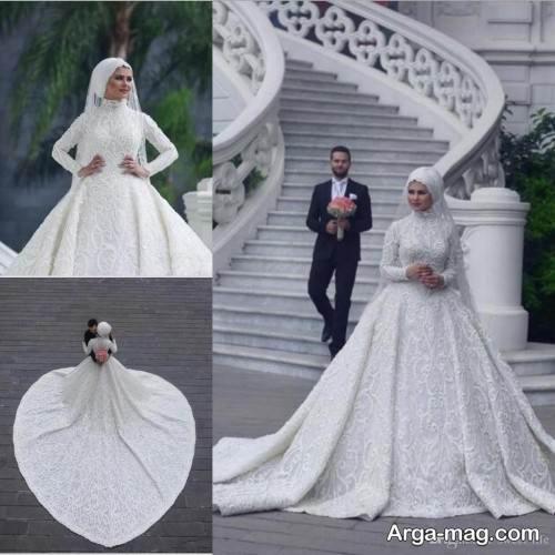 طرح پیراهن عروس