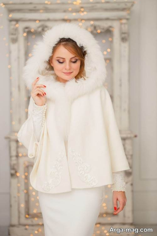 پیراهن عروس زمستانه