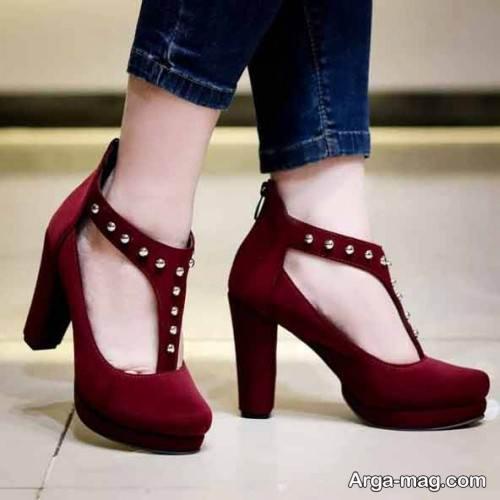 کفش زنانه جلو بسته