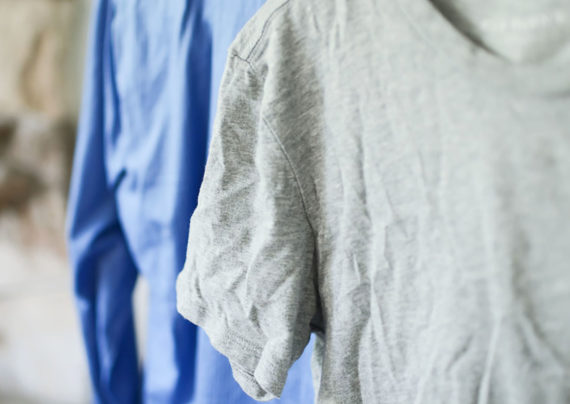 رفع چروک لباس بدون استفاده از اتو