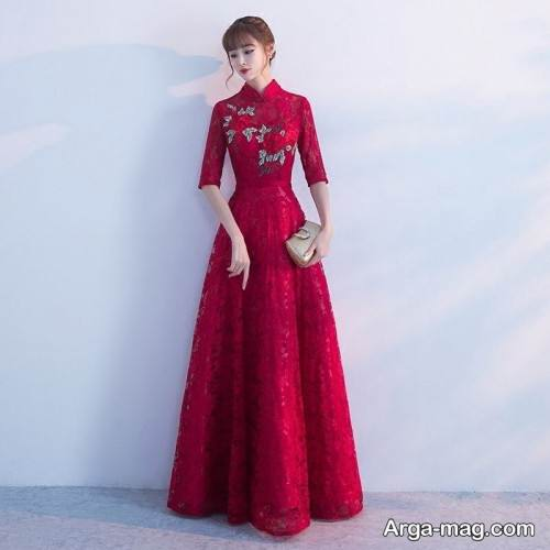 مدل لباس عروس برای شب یلدا
