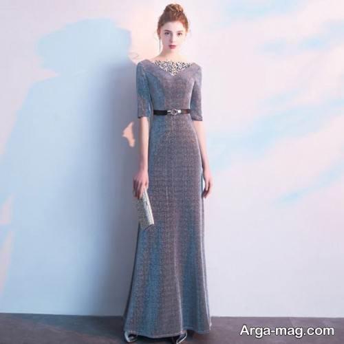 طرح لباس پوشیده و بلند برای شب یلدا