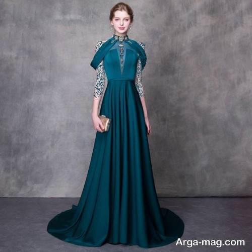 مدل لباس سبز برای شب یلدا