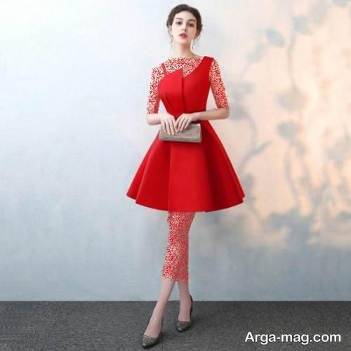 مدل لباس قرمز مخصوص شب یلدا