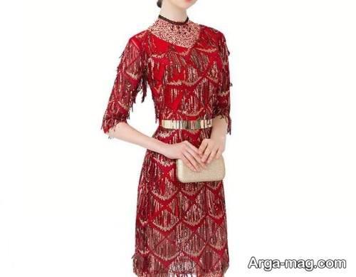 لباس کوتاه و طرح دار مخصوص شب یلدا
