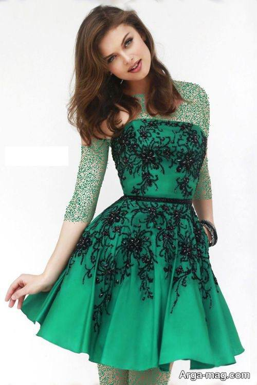 لباس کوتاه برای شب یلدا