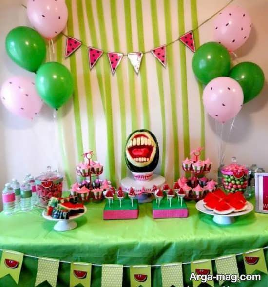 تزیین تولد جشن یلدا
