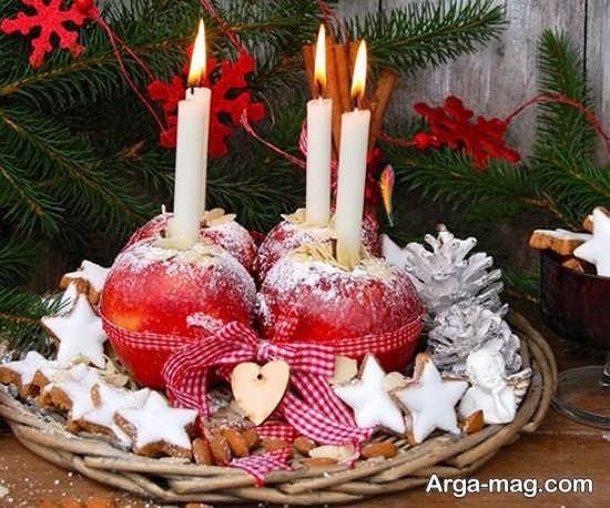 تزئینات خلاقانه شمع برای شب چله