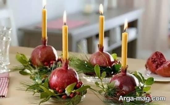 دوست داشتنی ترین تزئینات و چیدمان شمع برای شب چله