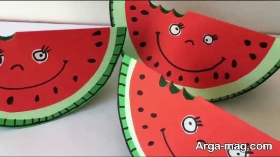 ایده های جالب برای ساخت کاردستی کودکانه شب یلدا