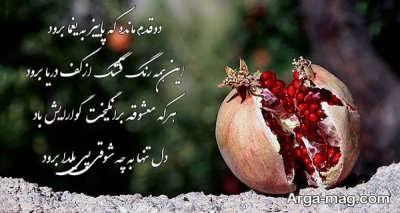 پیام تبریک عاشقانه برای شب یلدا