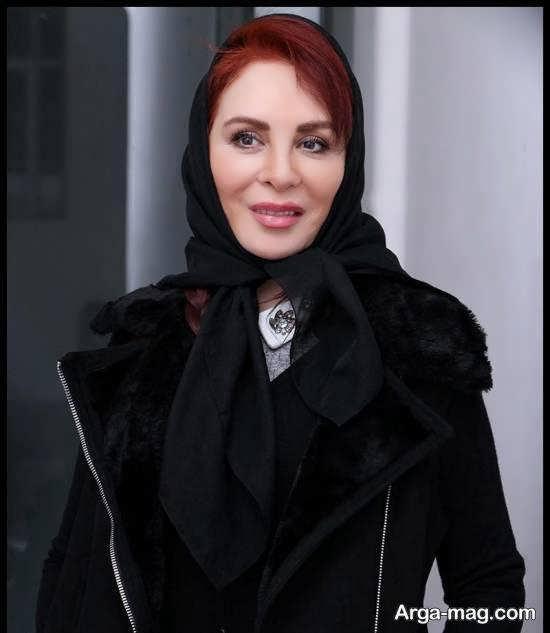 حضور افسانه بایگان در مراسم اختتامیه جشن نوشتار سینمای ایران