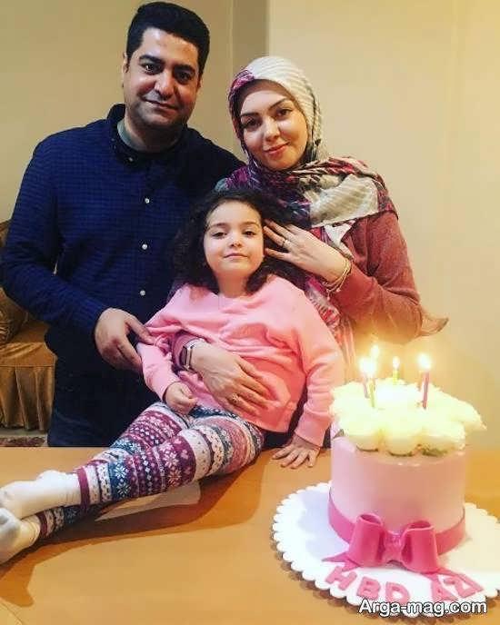 جشن تولد سی و چهار سالگی آزاده نامداری مجری ایرانی