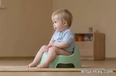کودک خود را در هنگام ترک پوشک سرزنش نکنید.