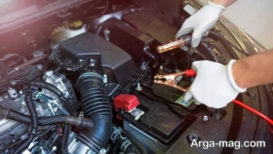 باتری به باتری کردن خودرو ها