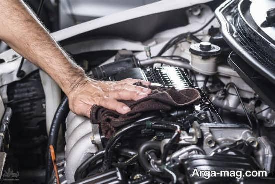 دلیل لرزش ماشین به علت تنظیم نبودن موتور