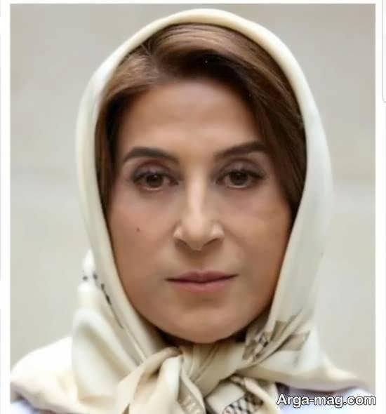 تصویر منتشر شده از گریم فاطمه معتمد آریا در فیلم «مجبوریم»