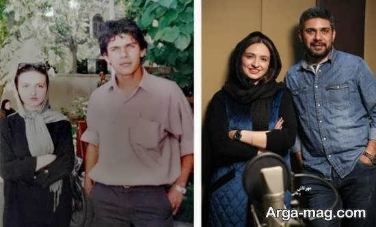 تصویر گلاره عباسی در دوران دبیرستان و تفاوتش با امروز