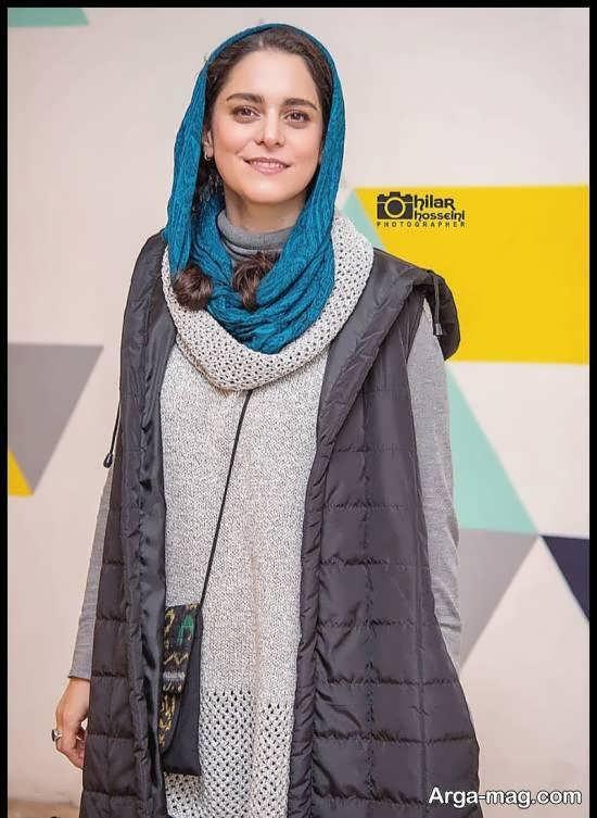 غزل شاکری در مراسم اکران فیلم سینمایی خداحافظ دختر سیرازی