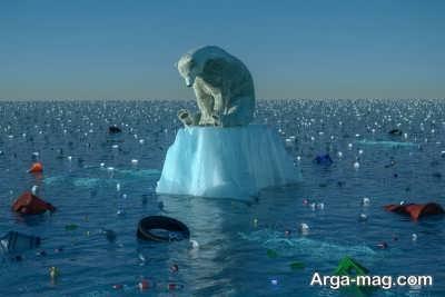 آب شدن یخ های قطب