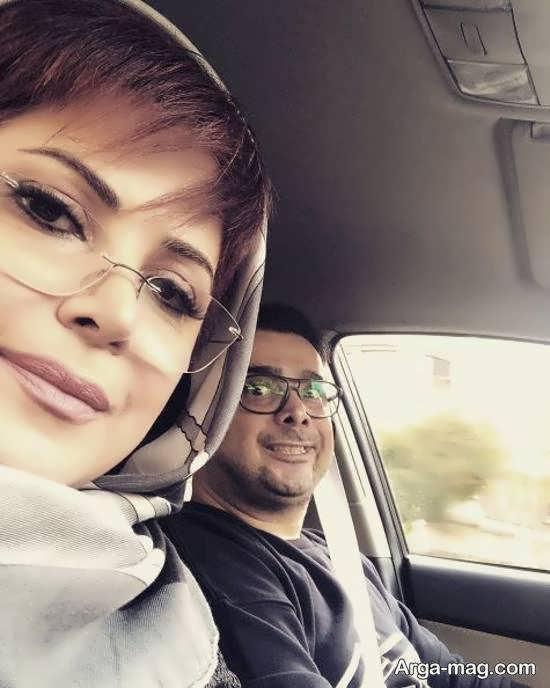 انتشار عکس خیلی خصوصی خودش کمند و برادرش سپند امیر سلیمانی