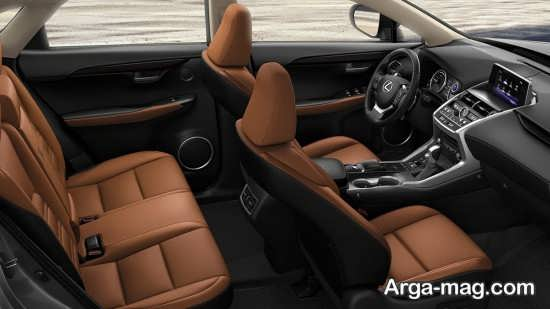 بررسی نمای داخلی خودرو لکسوس nx