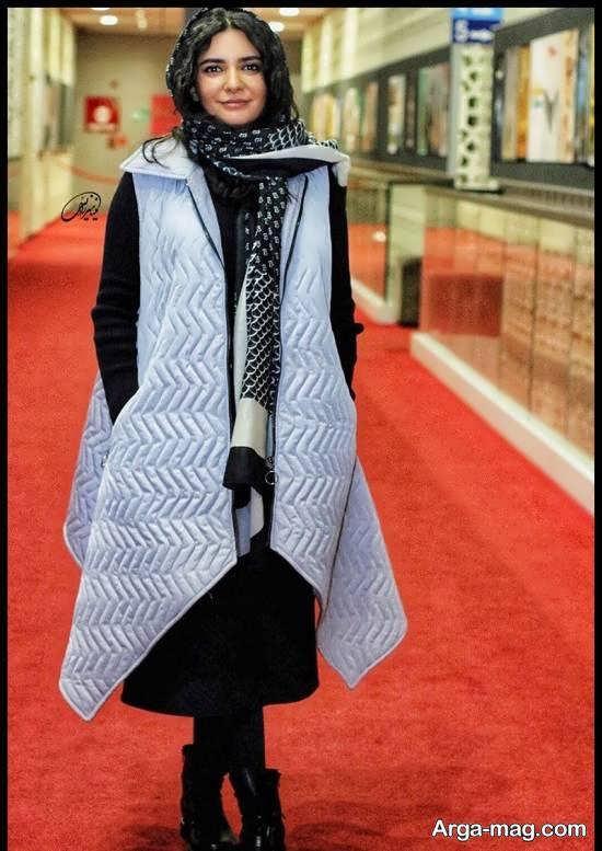 لیندا کیانی در مراسم اکران فیلم خداحافظ دختر شیرازی