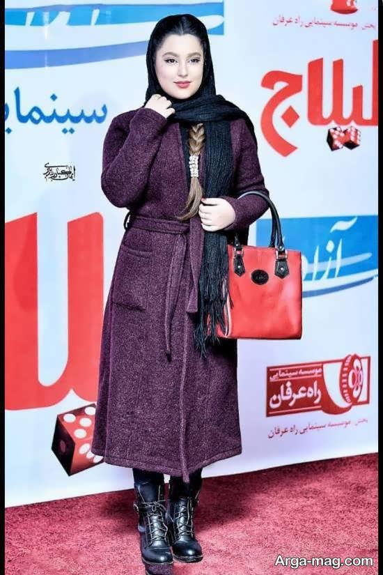 تیپ جذاب مهسا هاشمی در مراسم اکران فیلم سینمایی «لیلاج»