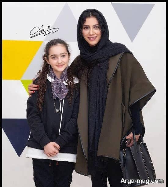 مانیا علیجانی در مراسم اکران فیلم سینمایی خداحافظ دختر شیرازی