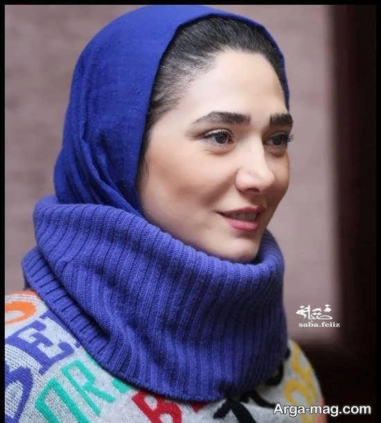 مینا وحید با پوششی خاص در اختتامیه ی جشنواره تئاتر «آرخه»