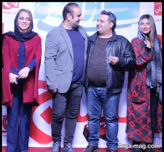 نسرین بابایی در مراسم اکران خصوصی فیلم سینمایی لیلاج