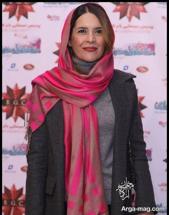 نازنین فراهانی در اکران خصوصی فیلم خداحافظ دختر شیرازی
