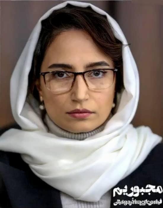 تصویر منتشر شده از گریم چهره نگار جواهریان در فیلم مجبوریم